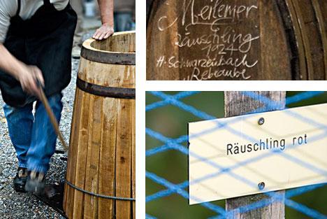 Weinbaumuseum am Zürichsee collage. Image by A. Haenni