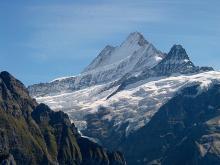 Mountains near Grindelwald, Switzerland. Photo by A. Haenni